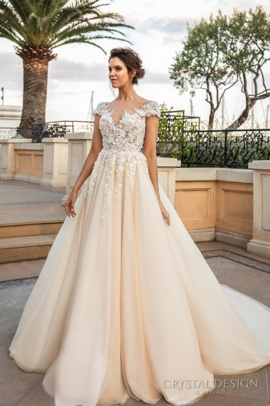 colored-wedding-dresses-2017-72 75+ Most Breathtaking Colored Wedding Dresses in 2020