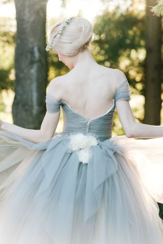 colored-wedding-dresses-2017-76 75+ Most Breathtaking Colored Wedding Dresses in 2020