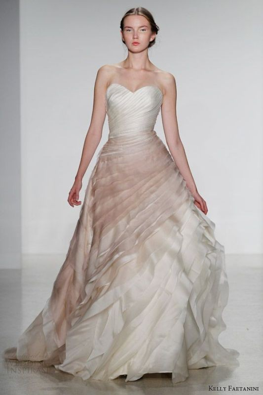 colored-wedding-dresses-2017-78 75+ Most Breathtaking Colored Wedding Dresses in 2020