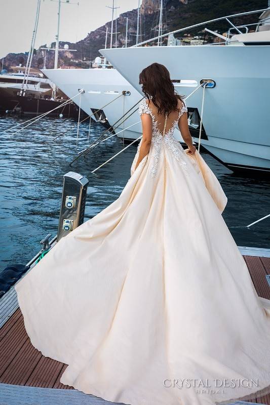 colored-wedding-dresses-2017-82 75+ Most Breathtaking Colored Wedding Dresses in 2020