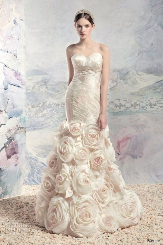 colored-wedding-dresses-2017-85 75+ Most Breathtaking Colored Wedding Dresses in 2018