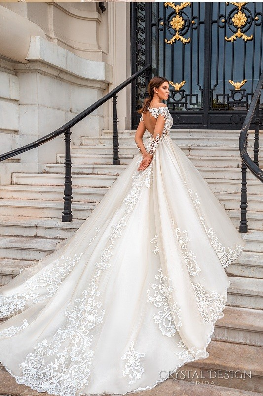 colored-wedding-dresses-2017-86 75+ Most Breathtaking Colored Wedding Dresses in 2020