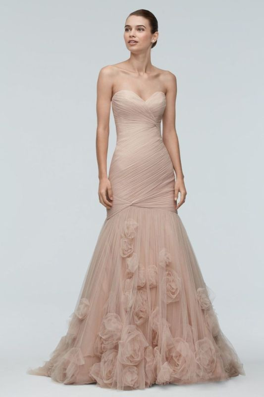 colored-wedding-dresses-2017-87 75+ Most Breathtaking Colored Wedding Dresses in 2020