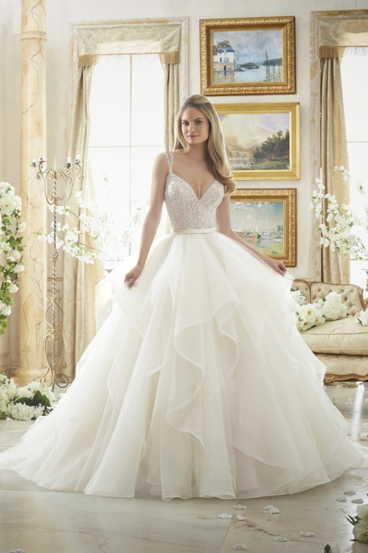 colored-wedding-dresses-2017-88 75+ Most Breathtaking Colored Wedding Dresses in 2020