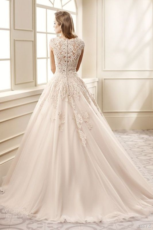 colored-wedding-dresses-2017-89 75+ Most Breathtaking Colored Wedding Dresses in 2020