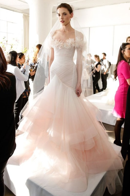 colored-wedding-dresses-2017-91 75+ Most Breathtaking Colored Wedding Dresses in 2020
