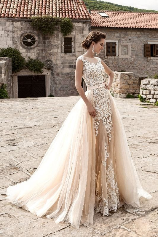 colored-wedding-dresses-2017-94 75+ Most Breathtaking Colored Wedding Dresses in 2020