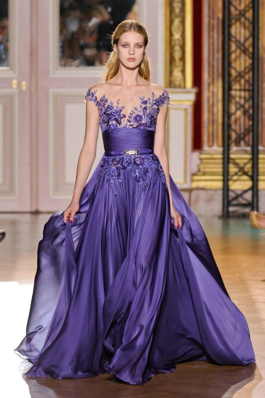 colored-wedding-dresses-2017-97 75+ Most Breathtaking Colored Wedding Dresses in 2020