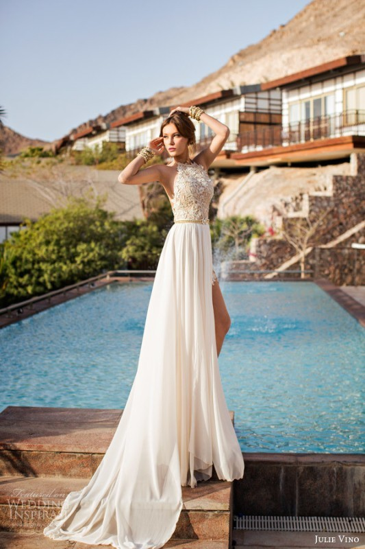 colored-wedding-dresses-2017-98 75+ Most Breathtaking Colored Wedding Dresses in 2020