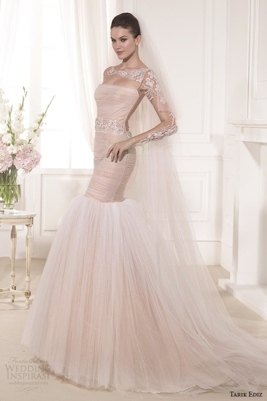 colored-wedding-dresses-2017-99 75+ Most Breathtaking Colored Wedding Dresses in 2018