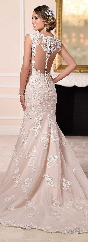 colored-wedding-dresses-2017 75+ Most Breathtaking Colored Wedding Dresses in 2020