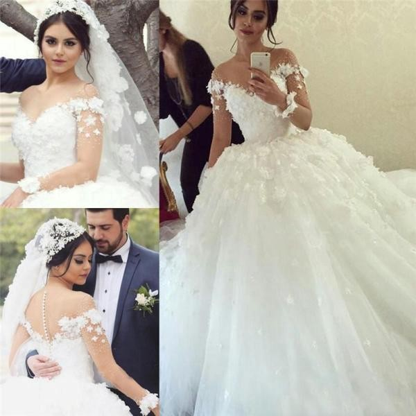 flattering-wedding-dresses-2017-102 89+ Most Flattering Wedding Dresses Brides-to-be Need to See