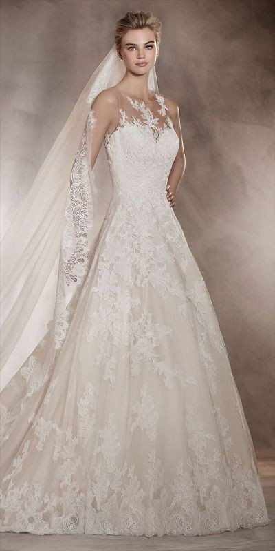 flattering-wedding-dresses-2017-12 89+ Most Flattering Wedding Dresses Brides-to-be Need to See