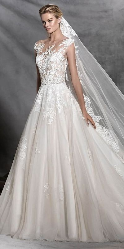 flattering-wedding-dresses-2017-13 89+ Most Flattering Wedding Dresses Brides-to-be Need to See