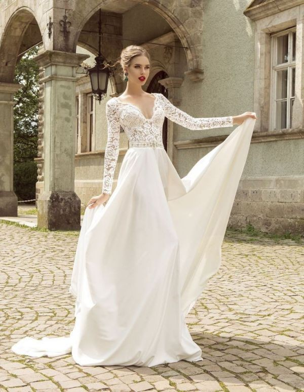 flattering-wedding-dresses-2017-136 89+ Most Flattering Wedding Dresses Brides-to-be Need to See