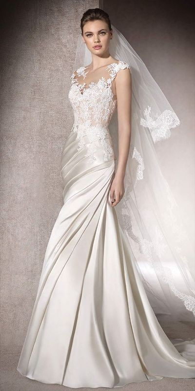 flattering-wedding-dresses-2017-15 89+ Most Flattering Wedding Dresses Brides-to-be Need to See