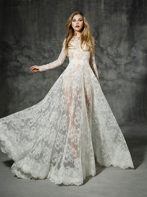 flattering-wedding-dresses-2017-152 89+ Most Flattering Wedding Dresses Brides-to-be Need to See