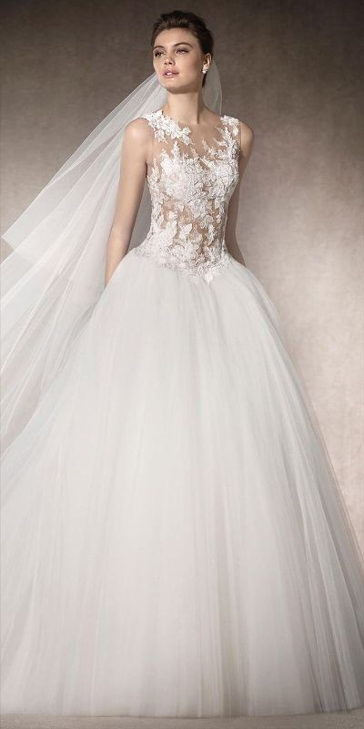 flattering-wedding-dresses-2017-16 89+ Most Flattering Wedding Dresses Brides-to-be Need to See