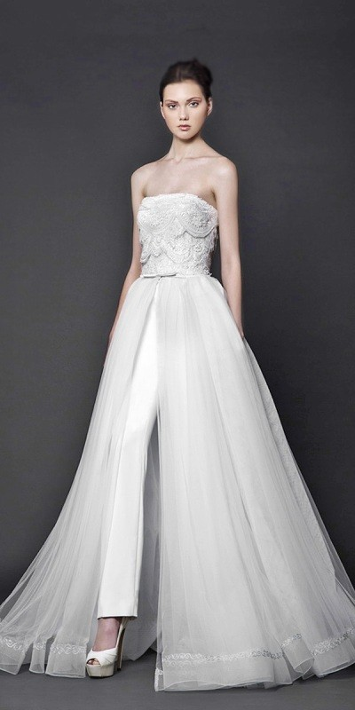 flattering-wedding-dresses-2017-17 89+ Most Flattering Wedding Dresses Brides-to-be Need to See