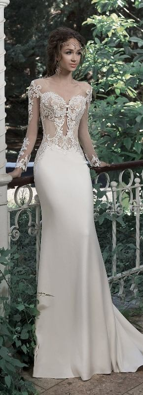 flattering-wedding-dresses-2017-2 89+ Most Flattering Wedding Dresses Brides-to-be Need to See