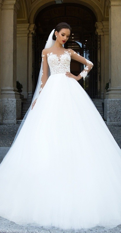 flattering-wedding-dresses-2017-24 89+ Most Flattering Wedding Dresses Brides-to-be Need to See