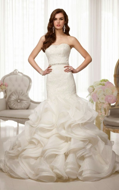 flattering-wedding-dresses-2017-38 89+ Most Flattering Wedding Dresses Brides-to-be Need to See