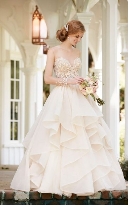 flattering-wedding-dresses-2017-40 89+ Most Flattering Wedding Dresses Brides-to-be Need to See