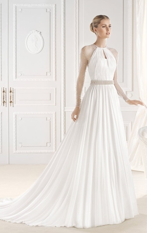 flattering-wedding-dresses-2017-47 89+ Most Flattering Wedding Dresses Brides-to-be Need to See