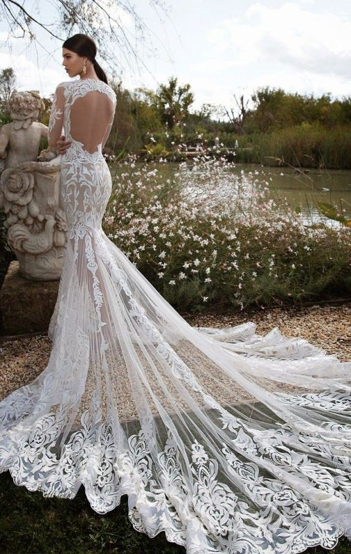 flattering-wedding-dresses-2017-48 89+ Most Flattering Wedding Dresses Brides-to-be Need to See