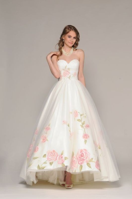 flattering-wedding-dresses-2017-51 89+ Most Flattering Wedding Dresses Brides-to-be Need to See