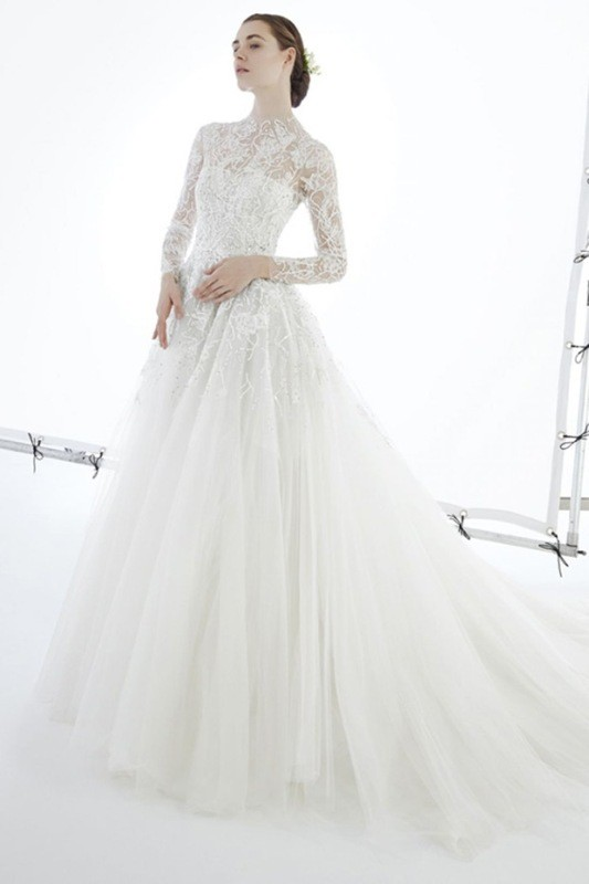 flattering-wedding-dresses-2017-65 89+ Most Flattering Wedding Dresses Brides-to-be Need to See