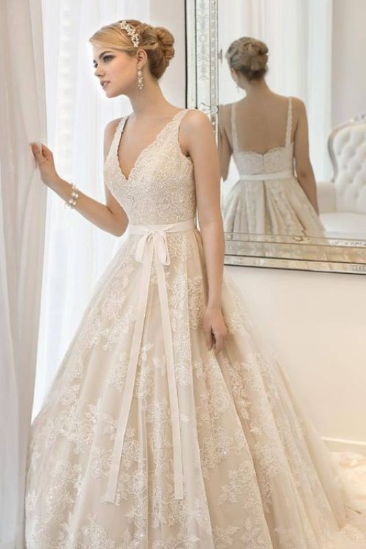 flattering-wedding-dresses-2017-67 89+ Most Flattering Wedding Dresses Brides-to-be Need to See