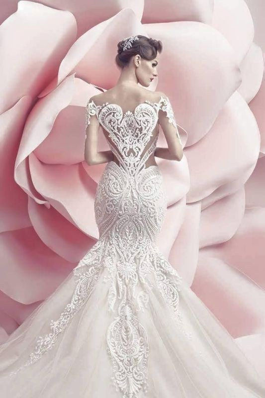 flattering-wedding-dresses-2017-68 89+ Most Flattering Wedding Dresses Brides-to-be Need to See