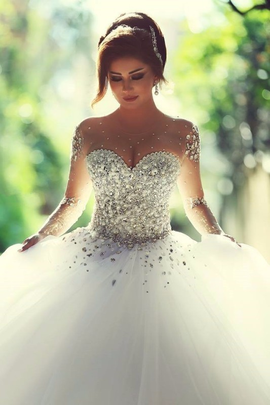 flattering-wedding-dresses-2017-74 89+ Most Flattering Wedding Dresses Brides-to-be Need to See