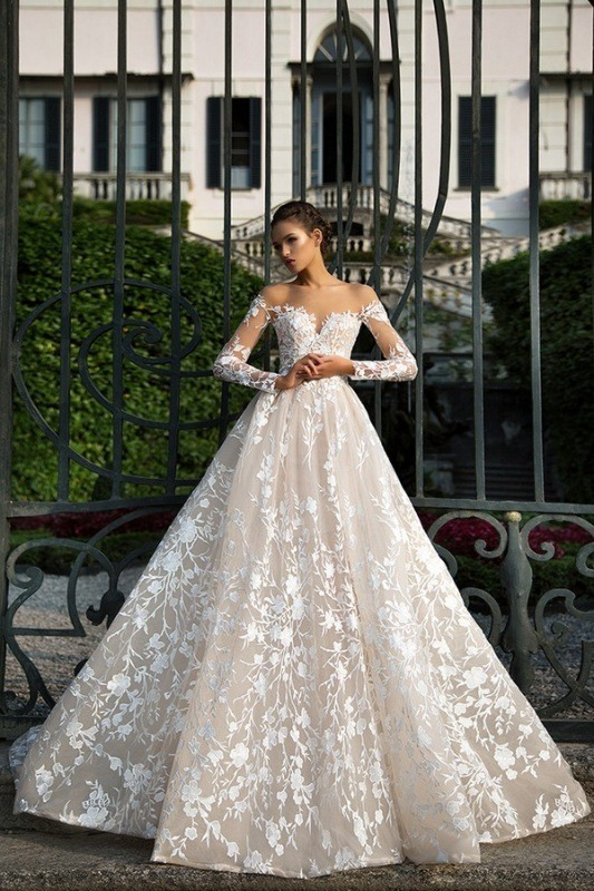 flattering-wedding-dresses-2017-75 89+ Most Flattering Wedding Dresses Brides-to-be Need to See