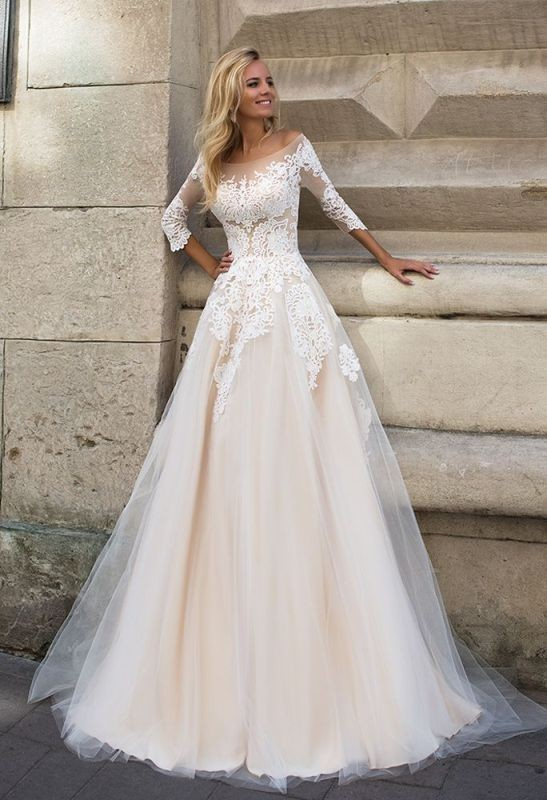 flattering-wedding-dresses-2017-83 89+ Most Flattering Wedding Dresses Brides-to-be Need to See