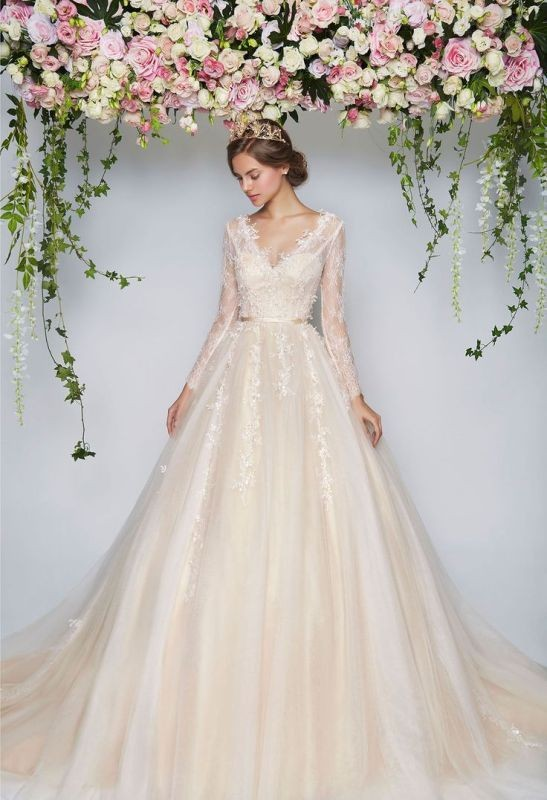 flattering-wedding-dresses-2017-84 89+ Most Flattering Wedding Dresses Brides-to-be Need to See