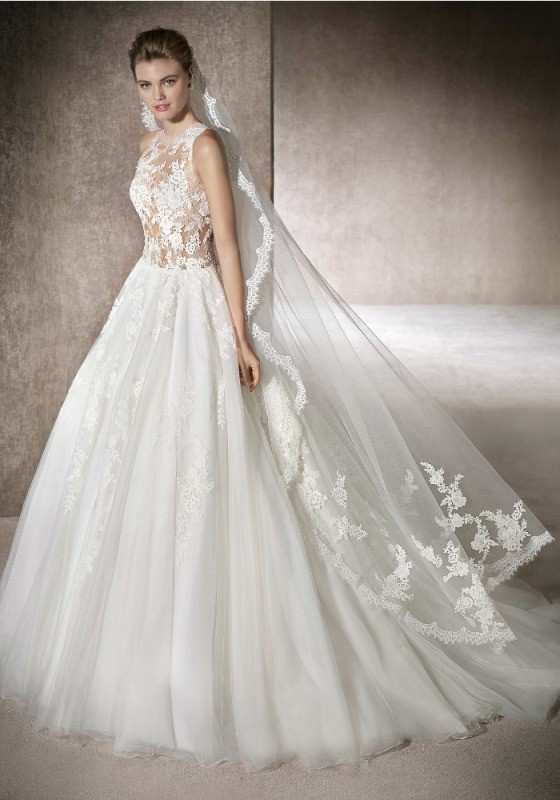 flattering-wedding-dresses-2017-88 89+ Most Flattering Wedding Dresses Brides-to-be Need to See
