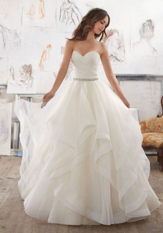 flattering-wedding-dresses-2017-91 89+ Most Flattering Wedding Dresses Brides-to-be Need to See