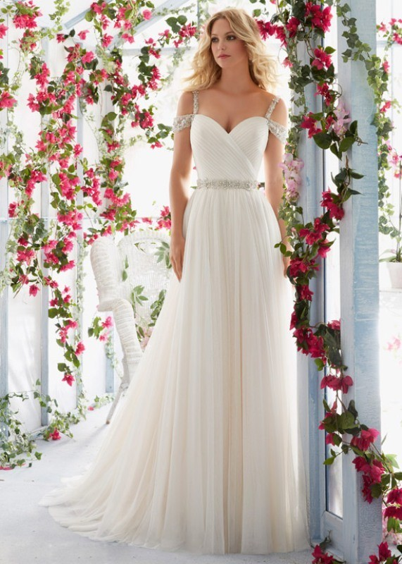 flattering-wedding-dresses-2017-92 89+ Most Flattering Wedding Dresses Brides-to-be Need to See