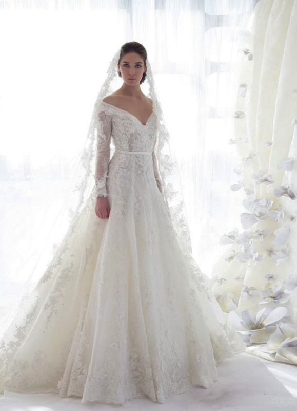 flattering-wedding-dresses-2017-94 89+ Most Flattering Wedding Dresses Brides-to-be Need to See