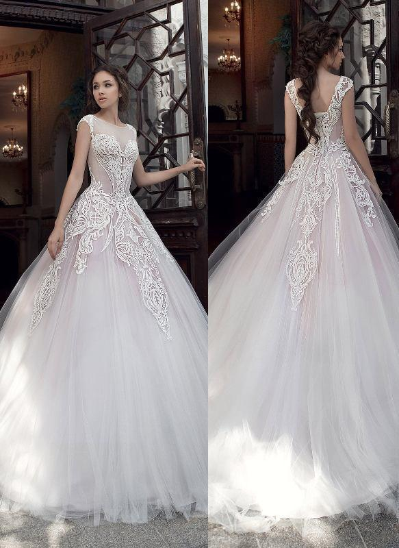 flattering-wedding-dresses-2017-95 89+ Most Flattering Wedding Dresses Brides-to-be Need to See