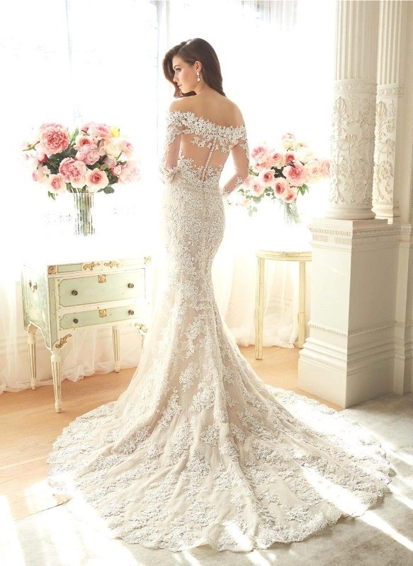 flattering-wedding-dresses-2017-96 89+ Most Flattering Wedding Dresses Brides-to-be Need to See