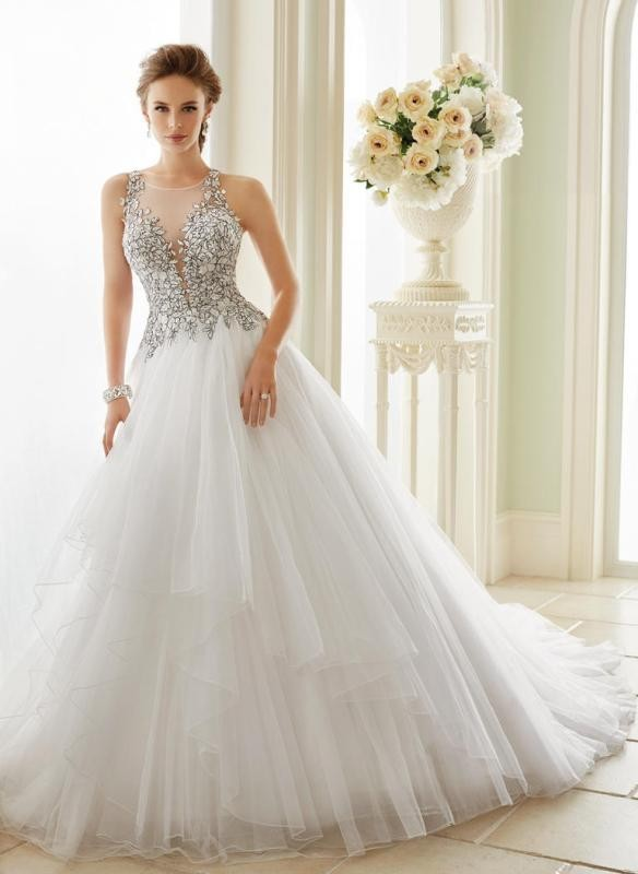 flattering-wedding-dresses-2017-98 89+ Most Flattering Wedding Dresses Brides-to-be Need to See