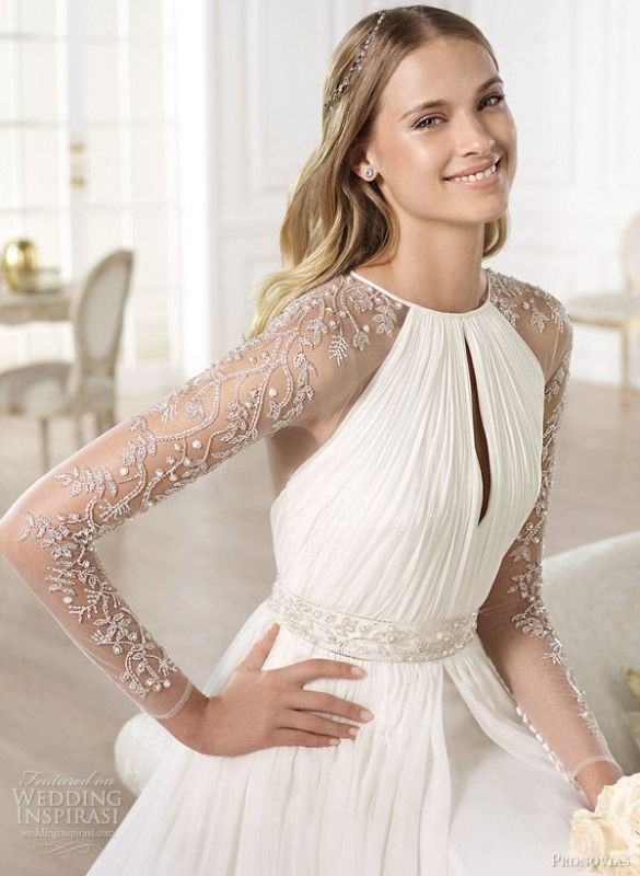 flattering-wedding-dresses-2017-99 89+ Most Flattering Wedding Dresses Brides-to-be Need to See