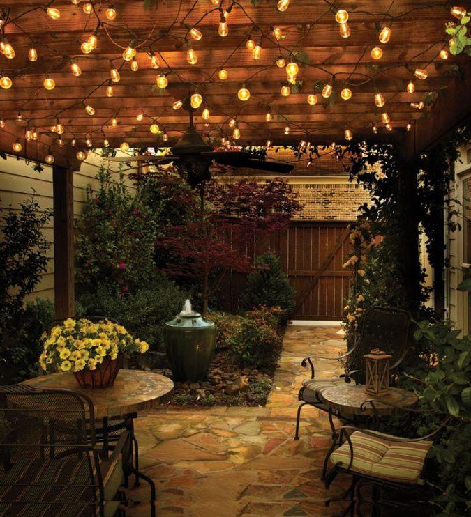 garden-design-fairy-lights-2-675x742 2018 Trending: 15 Garden Designs to Watch for in 2018