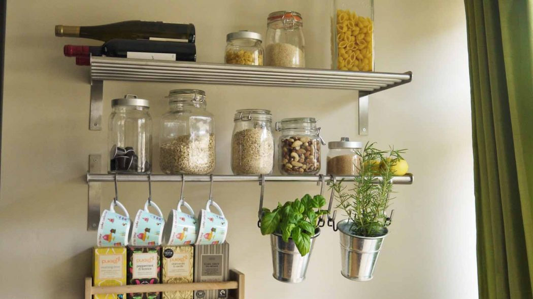 kitchen-wall-racks 6 Affordable Organizing and Decoration Ideas for your Kitchen