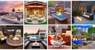 Delightful and Affordable Fire pit Decoration Designs in 2017