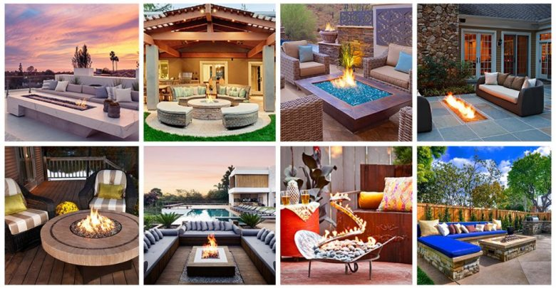 Photo of 8 Delightful and Affordable Fire pit Decoration Designs in 2020