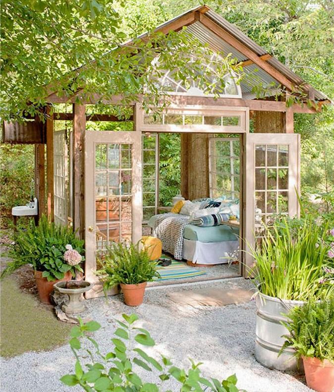 outdoor-room-in-a-garden-2 Trending: 15 Garden Designs to Watch for in 2020